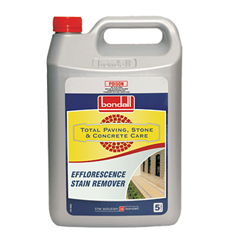 Efflorescence stain remover